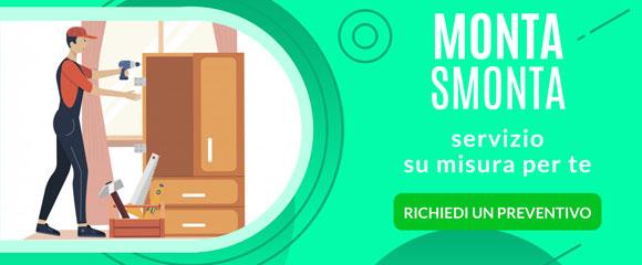 Montiamo e smontiamo i tuoi mobili servizio a Palermo e in Sicilia